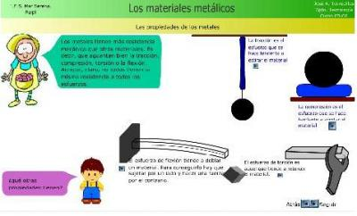 LOS METALES en el I.E.S. MAR SERENA