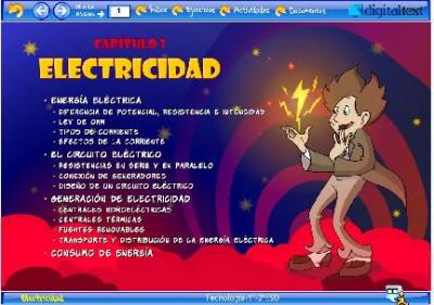 LA ELECTRICIDAD en DIGITAL-TEXT