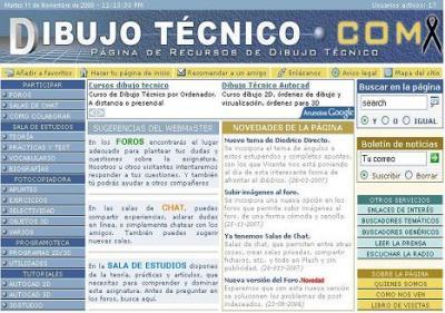 EL DIBUJO TÉCNICO en DIBUJOTECNICO.COM