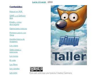 TALLER DE GIMP de LUCÍA ÁLVAREZ