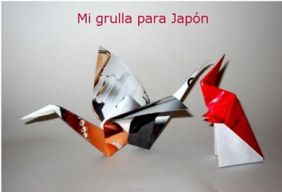 1.000 GRULLAS PARA JAPÓN