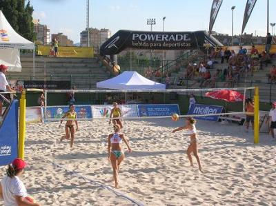 VOLEY PLAYA EN MURCIA