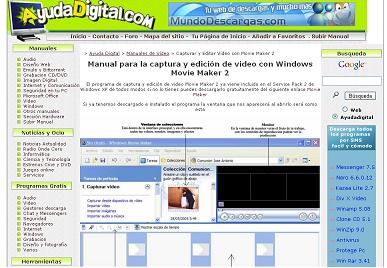 WINDOWS MOVIE MAKER en AYUDA DIGITAL