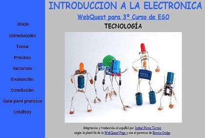 WEBQUEST DE ELECTRÓNICA 3º ESO
