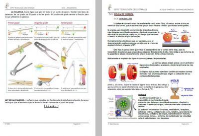 MÁQUINAS SIMPLES Y MECANISMOS (IES SEFARAD)